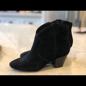 Ash Shoes - Ash booties. Black suede